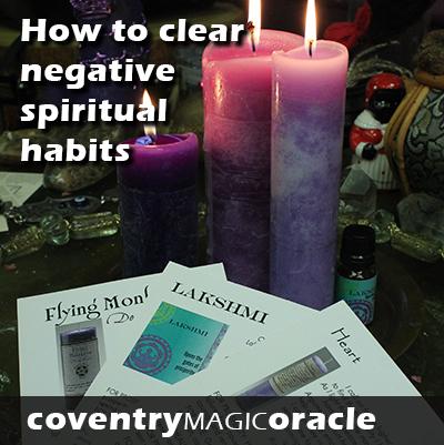 Nov CMO how to clear negative spiritual habits