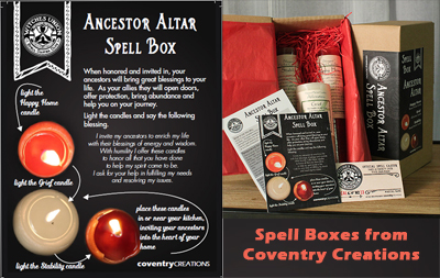 Witches Union Spell Boxes
