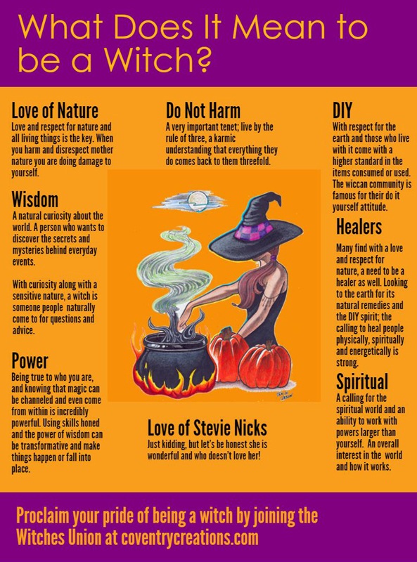 What Does it Mean to Be a Witch?