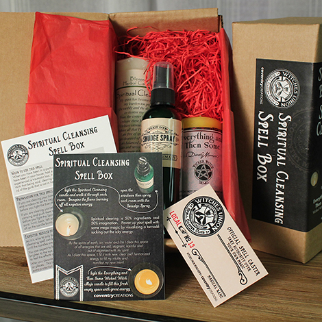 Unwrapping the Spiritual Cleansing Set