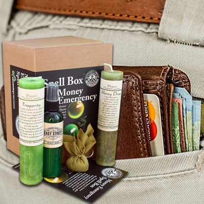 Money Emergency - A Witches Union Spell Box