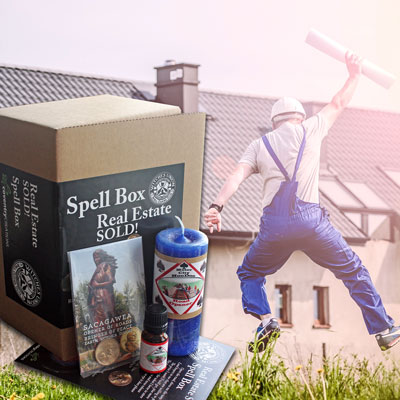 Real Estate SOLD! - A Witches Union Spell Box