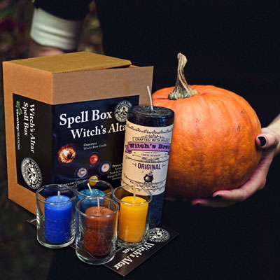 Witch's Altar - A Witches Union Spell Box