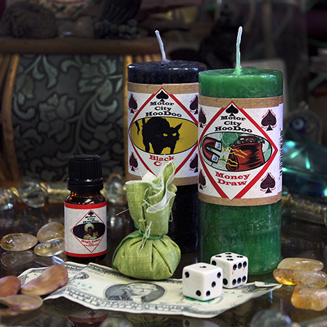 Casting the Dice - The Witches Union Mojo Bag for Gamblers' Luck