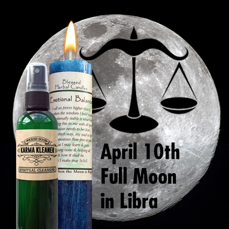 April Libra Full Moon