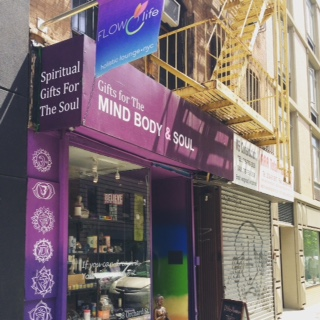 store front 2 Flowlife nyc Holistic Lounge